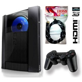 Sony PlayStation 3 Super Slim 500Gb + кабель HDMI 1.4