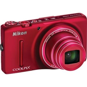 Фотоаппарат Nikon S9500 CoolPix Red*
